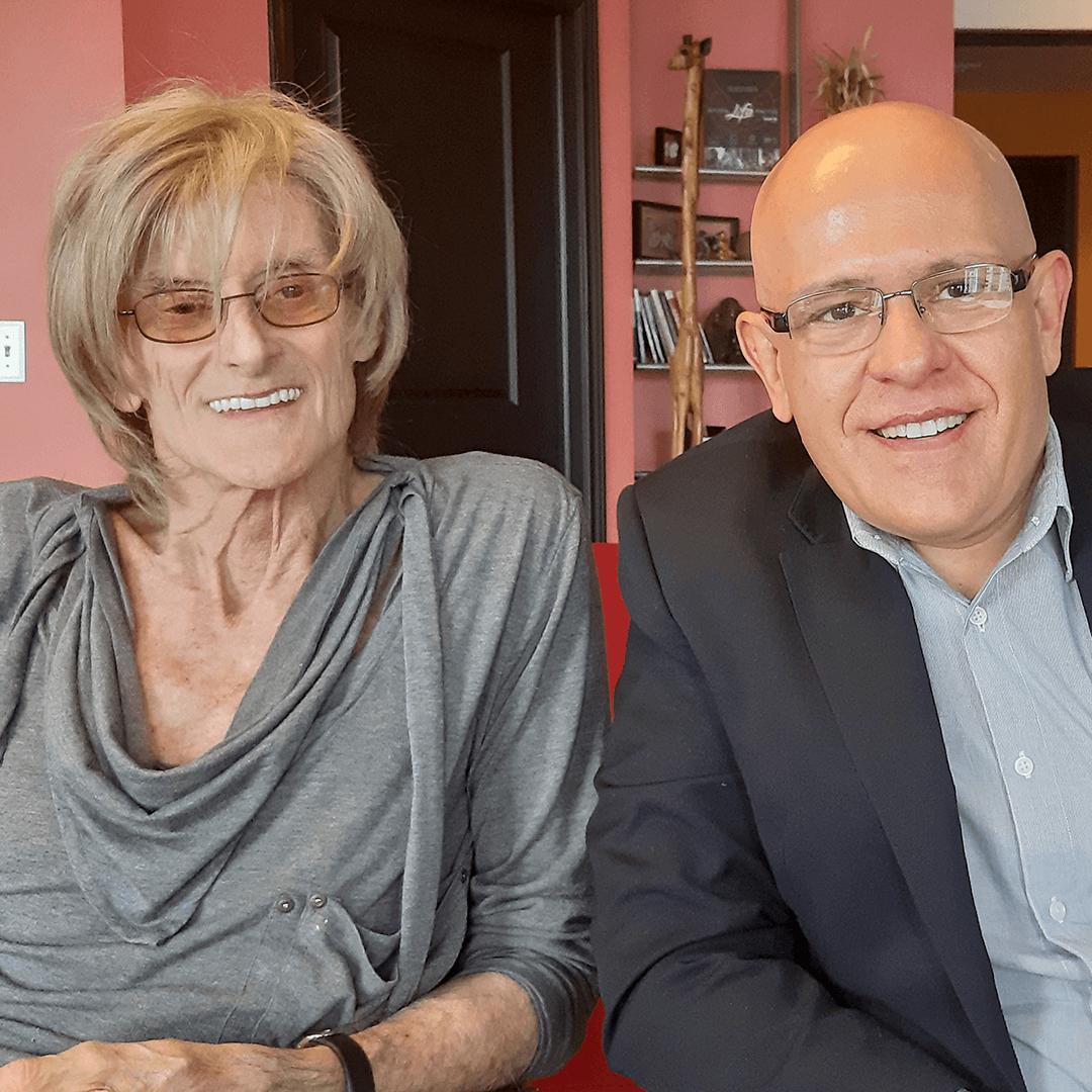 Moacyr Castellani em sua mais recente visita a Ken em sua casa em Denver (Mar/2020)